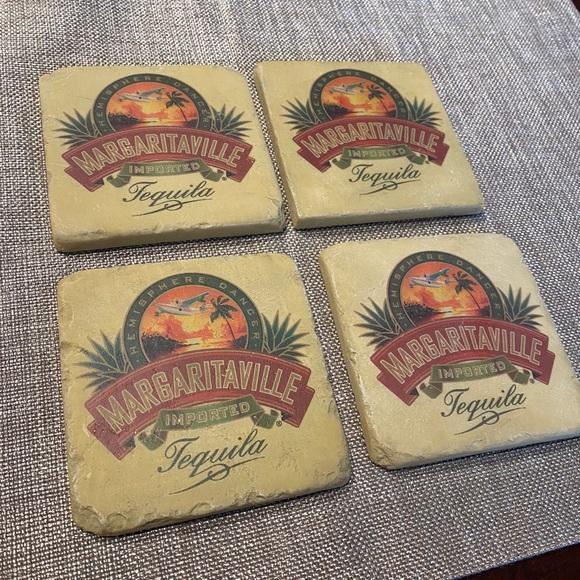 Stone Margaritaville Coasters